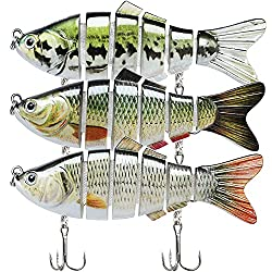 Lifelike Bass Trout Multi Jointed Lures