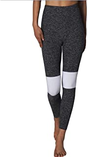 Qootent Women's Leggings Slim Fitness Spliced Trousers Yoga Sweatpant Active Pant