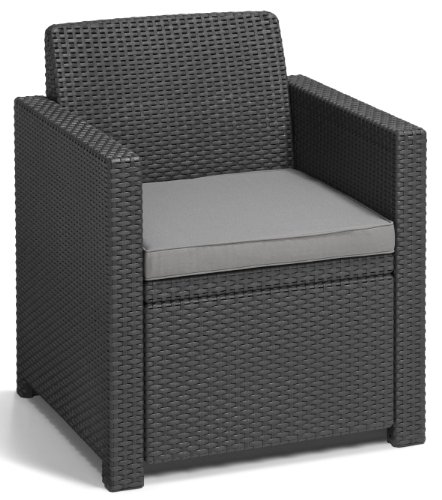 Allibert Lounge-Set Merano 4tlg, graphit/cool grey - 2