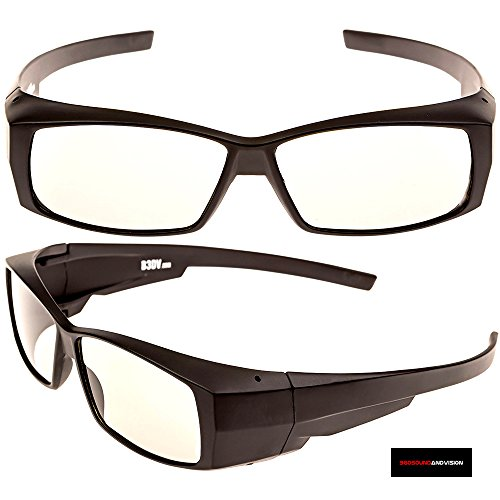 360 Sound And Vision Advanced Passive 3-D Glasses - for All Passive 3D TVs & RealD 3D Cinemas