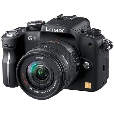 パナソニック デジタル一眼カメラ LUMIX (ルミックス) G1 レンズキット コンフォートブラック DMC-G1K-K