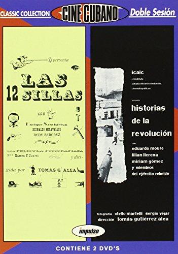 Pack Cine cubano: Historias de la revolución + Las doce sillas [DVD]