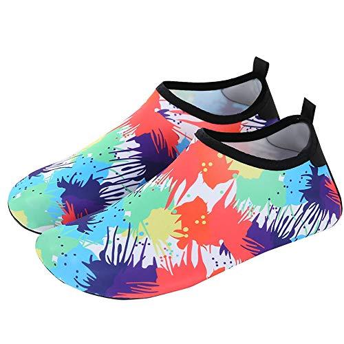 KDOAE Calzado de Agua para Hombres y Mujeres Playa al Aire Libre Zapatos de Buceo Calcetines Surf Buceo natación Caminatas Navegación Snorkel Zapatos de los Hombres Natación en la Playa