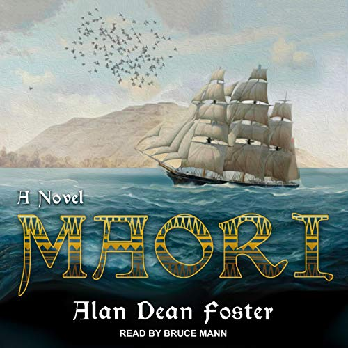 Maori audiobook cover art