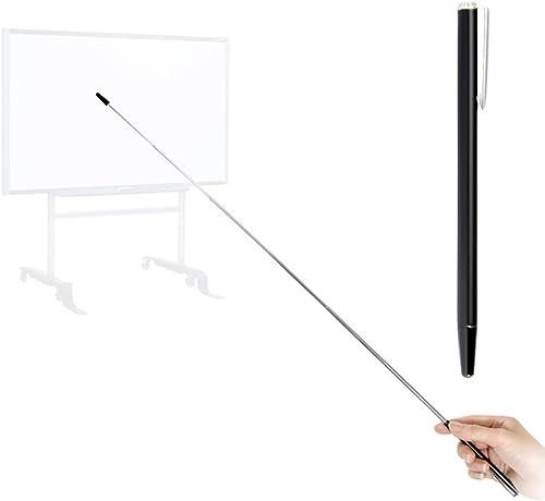Pointer - Teachers Pointer - Teaching Pointer - Hand Pointer Extended Length, Presenter Whiteboard Pointer, Black Mat...