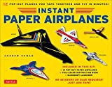 Instant Paper Airplanes Kit: 12 Pop-out Airplanes...