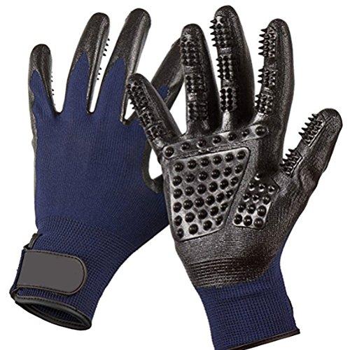 JIASHUAIBIN huisdier douche siliconen handschoenen multifunctionele handschoenen voor het kammen van haar en massage (Koop ten minste twee paar handschoenen)