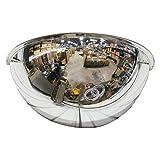 Se-Kure Domes & Mirrors ONV-180-18 Half Dome Mirror, 18' Diameter