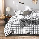 Michorinee - Juego de cama (135 x 200 cm, microfibra, funda nórdica...