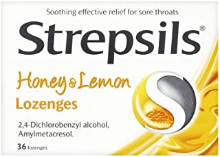 Strepsils Honey and Lemon 36 Lozenges by Strepsils