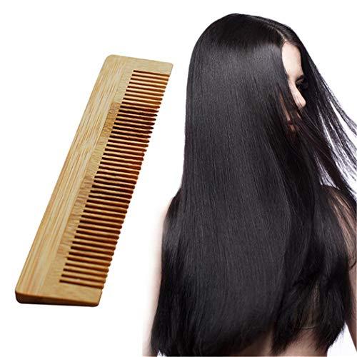 Eleusine en Bois Peigne De Massage en Bambou Ventilateur Brosse Soins des Cheveux Maquillage Beauté Spa Masseur Outil