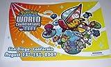 Pokemon Trading Card Game TCG 2009 World Championships Surfing Pikachu Poster