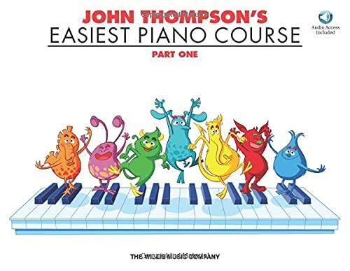 John Thompson's Easiest Piano Course - Part 1 - Book/Audio: Part 1 -...