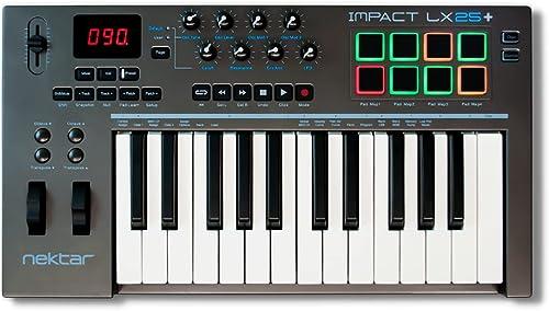 Nektar Impact Xb2501+ USB MIDI Keyboard Controller avec DAW intégration