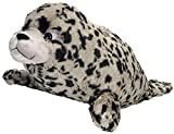 Wild Republic Jumbo Harbor Seal Plush, Giant Stuffed Animal, Plush Toy, Gifts for Kids, 30 Inches