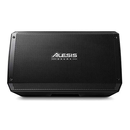 """Alesis Strike Amp 12 - Altavoz amplificado, amplificador para batería electrónica de 2000 W con woofer de 12"""", controlador de compresión de alta frecuencia y ecualizador de contorno"""