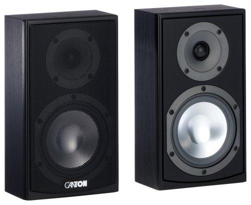 Canton GLE 410 OnWall Lautsprecher (60/100 Watt) schwarz (Paar)