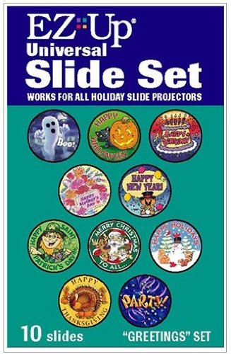 Holiday Projector Replacement Slide Pack - Greetings