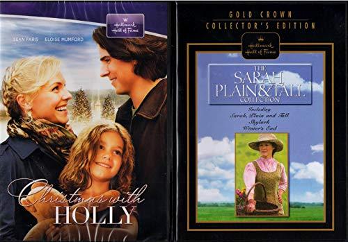 Sarah, Plain & Tall Collection : Sky Lark , Winter's End and Sarah Plain and Tall with Bonus Christmas with Holly - Hallmark Hall of Fame 4 disc set