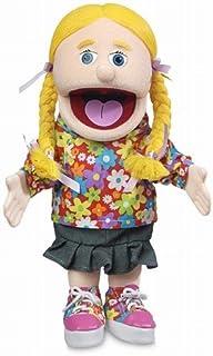 """14"""" Cindy, Peach Girl, Hand Puppet"""