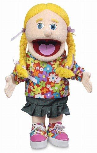 14' Cindy, Peach Girl, Hand Puppet