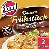 Pfanni Kartoffelfertiggericht Bauern Frühstück Bratkartoffeln mit Speck & Ei 100%...