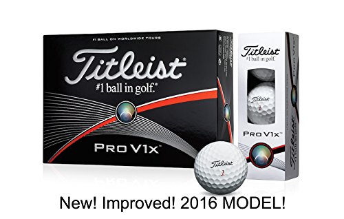 Cheap New Improved 2016 Titleist Pro V1x Golf Balls (12/Pack) - 2016 Model