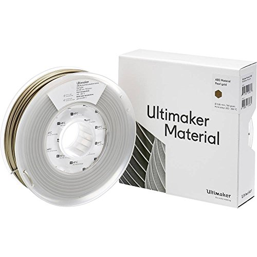 Ultimaker Filament ABS - M2560 Pearl oro 750 - 206127 ABS 2.85 mm oro 750 g