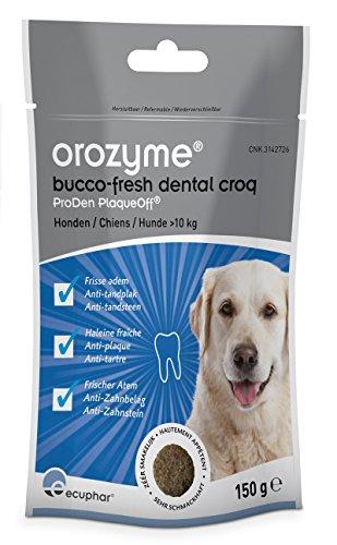 ecuphar Orozyme® Bucco-Fresh Dental Croq für Hunde groß - 150g