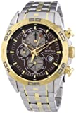 Festina Men's F16655/4 Quartz Watch with Brown Dial Analogue Display and Multi-Colour Bracelet