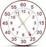 Reloj de pared minimalista arte reloj de pared diseño moderno para habitación de cama nórdico decoración del hogar silencioso barrido reloj de cuarzo manos madera sin marco reloj de pared