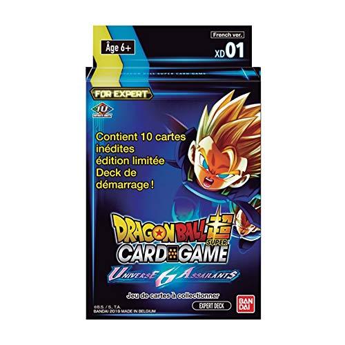 Dragonball Super Card Game - Deck Expert XD1 - Universe 6 Assaillants en Français