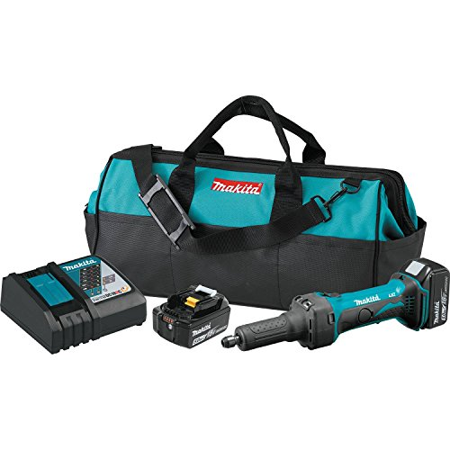 Makita XDG01T Amp 18V LXT Lithium-Ion Cordless 1/4' Die Grinder Kit
