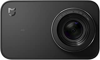 """Xiaomi Mi 4K Action Camera, 2.4"""" Touchscreen WiFi Sports Camera with Sony Image Sensor, 145° Wide Angle 4K/30fps 1080P/100fps Video Raw Image"""