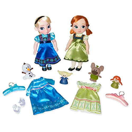 Disney Anna and Elsa Singing Dolls Deluxe Gift Set Animators' Collection