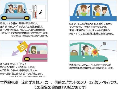 透明断熱フィルム3Mピュアカット89・車種別カット済み・特注