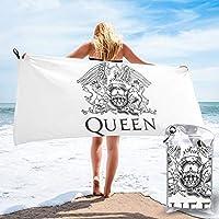Queen バンド「クイーン」16 速乾タオル マイクロファイバー バスタオル ビーチタオル 超吸水 超やわらか 肌触り抜群 抗菌防臭 プール 海水浴 タオルケッ 大判 おしゃれ バスタオル