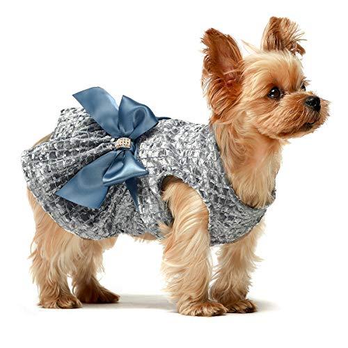 Embroidery Dog Dress