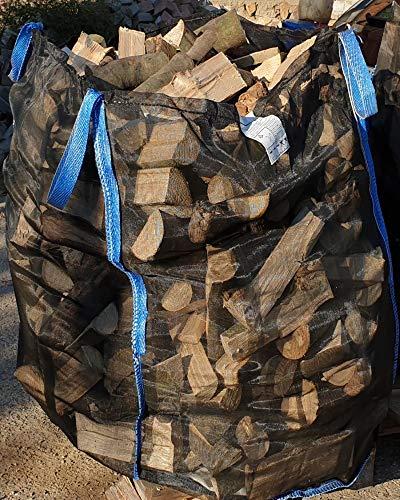 5 x Hochwertige Premium Holzbag Big Bag für Brennholz Woodbag Scheitholz Brennholzsack Netz BigBag 100 * 100 * 120cm vom Hersteller