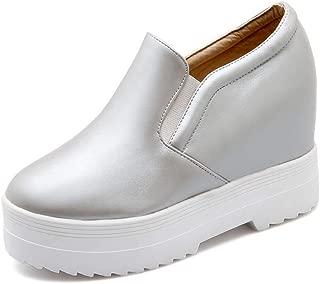 BalaMasa Womens APL12312 Pu Platform Heels