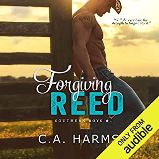 Forgiving Reed                   By:                                                                                                                                 C. A. Harms                               Narrated by:                                                                                                                                 Em Eldridge                      Length: 6 hrs and 41 mins     156 ratings     Overall 4.2