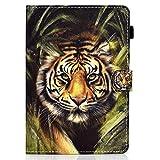 10 inch Tablet Case Cover - - Housse Universelle en Cuir avec Support Folio Housse Compatible avec...