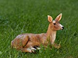 XTAPAN Doe Statue Figurines Deer Animal Sculpture Gift Home Decor,Office or Outdoor Garden Statue Woodland Decoration
