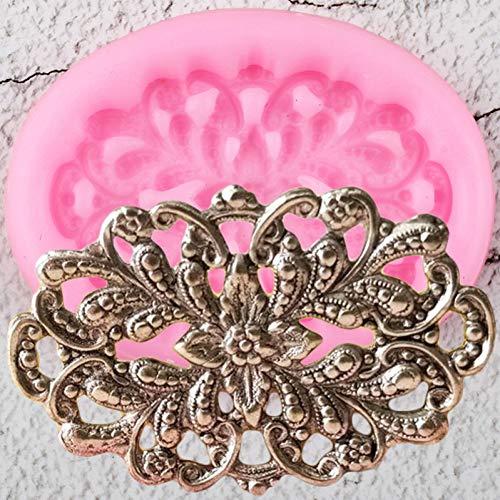 HANXIN Blumensilikonformen DIYKuchen Dekorationswerkzeuge Schmuck Harz Ton Candy Schokoladenformen