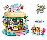 LOZ Mini Block 1730 Burger Shop MOC Mini Series