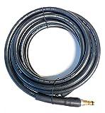 M&M Smartek Tuyau haute pression compatible avec Kärcher K2 K3 K4 K5 K6 K7 Home & Garden à partir de 2008 Nettoyeur haute pression avec système de connexion rapide double face comme 2.641-721.0