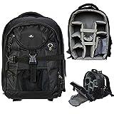 Case4Life Pro Range SLR DSLR Backpack Bag with Tripod Holder + Rain Cover
