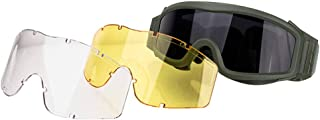 FOCUHUNTER Safety Glasses-Sport Glasses Dust Protection Eyewear, Driving Glasses, Military Eye Protection Goggles for Cycl...