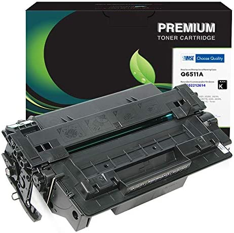 MSE Brand Remanufactured Toner Cartridge for HP 11A Q6511A Black product image