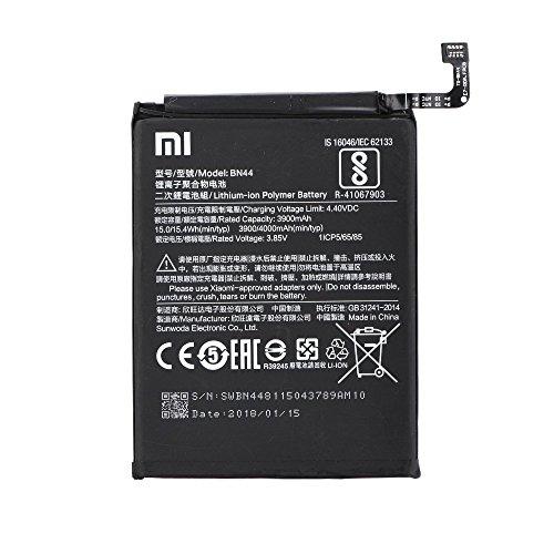 Batería Compatible Xiaomi BN44 para Xiaomi Xiaomi RedMi Note 5 Plus - 3900 mAh con Carga Rapida 2.0 - Sin caja